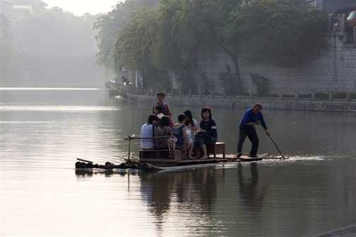 Early morning, Guilin, River Li