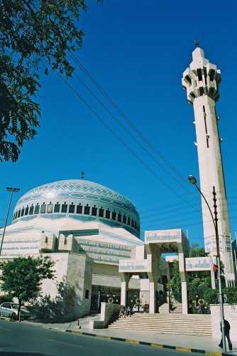 The Blue Mosque, Amman