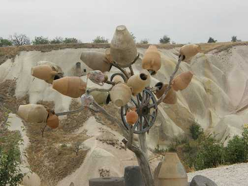 Yes, jars do grow on trees in Turkey