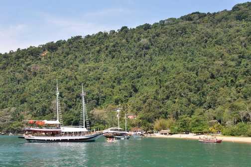 Boat Trip - Paraty