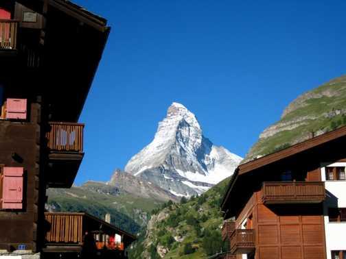 The Matterhorn, saw it a lot!