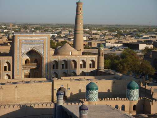 View from the Khiva Minaret