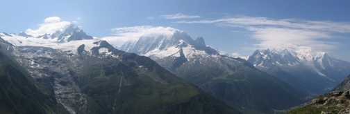 From Lac Blanc