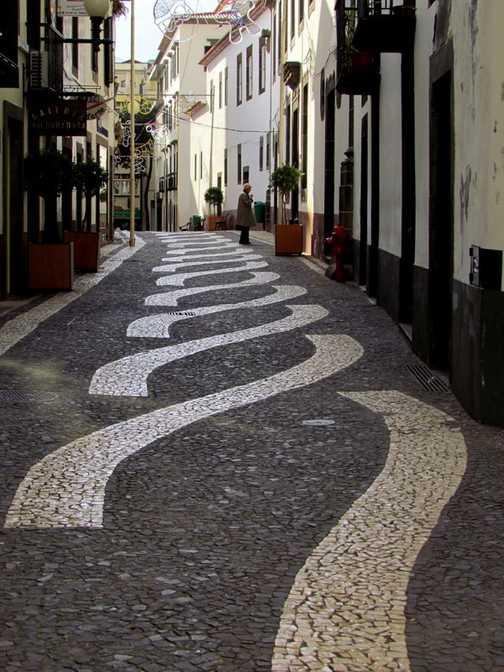Traditonal Paving Funchal