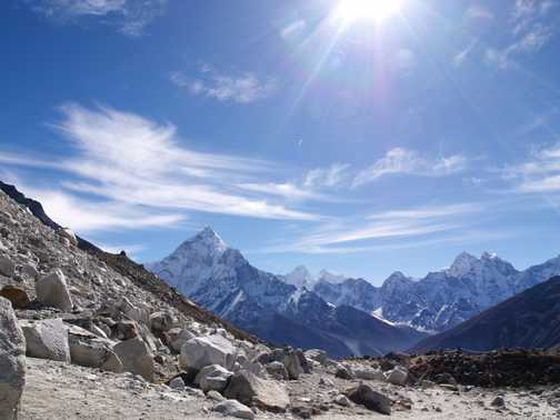 Ama Dablam by Malcolm Duck