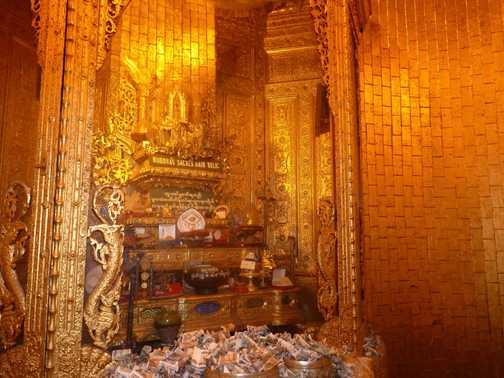 Buddha's hair relic at Botatuang Paya