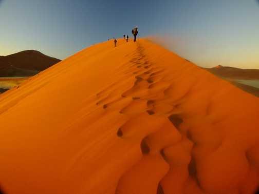 Dune 45 at sunrise