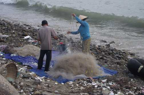 Fishing at Dai Lanh