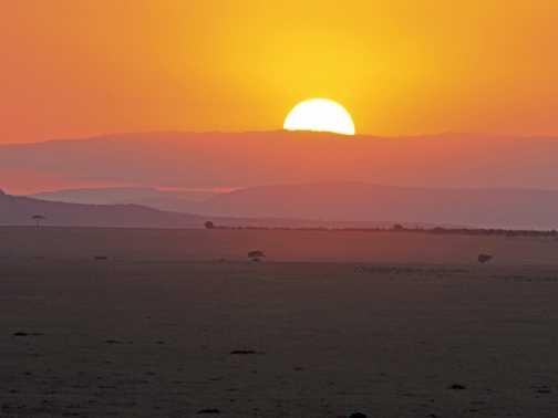 Sunrise over the Mara, Awesome