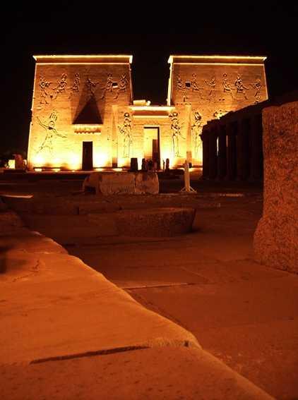 Philae by night