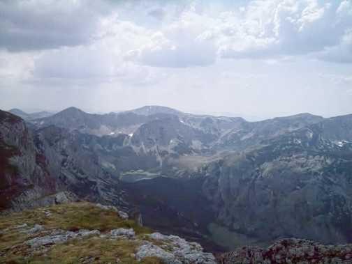 Trnovaclo lake from Maglic