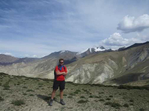 Stok Kangri in the background