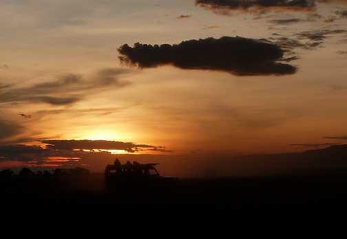 Toyota sunset