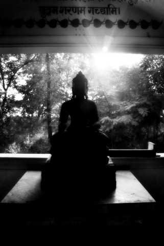 Budda sunrise