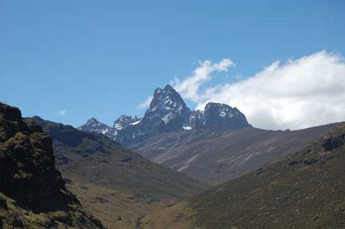 Mount Kenya - MacKinder Valley
