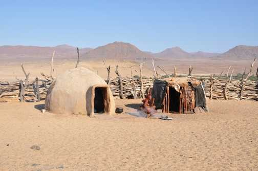 Himba woman - Namib Desert