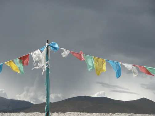 Tingri flags