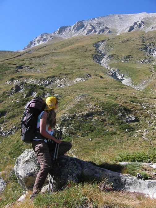 Descent from Mt. Vihren