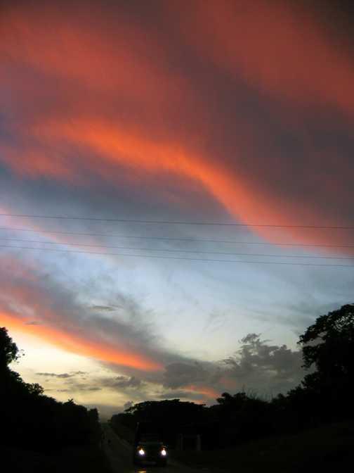 santiago dusk