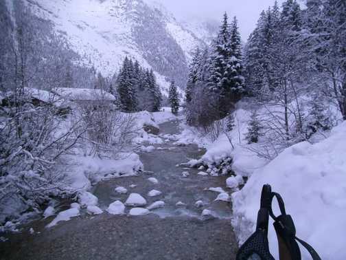 Leutasch river