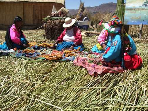 The Reed Island - Lake Titicaca