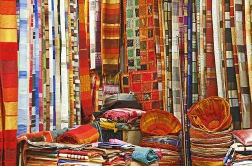 The souks of Marrakesh