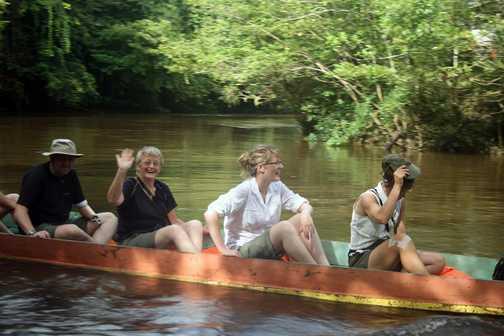 In the longboat
