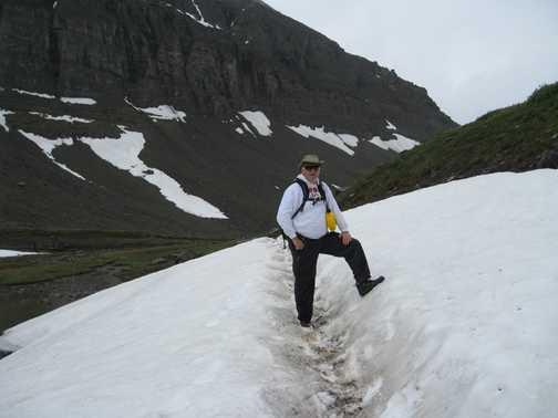 Snowbird pass on the Berg Lake Trail, Mount Robson Park, British Columbia.