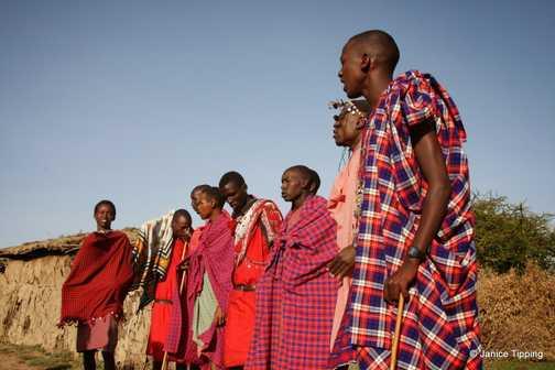 Maasai - we visited a Maasai village by invitation