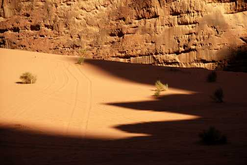 wadi rum, early evening