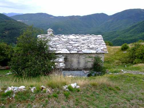 marble roofed cottage