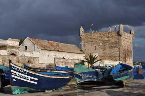Stormy Essaouira
