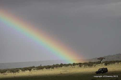 At the end of the rainbow - a Exodus photographic trip?