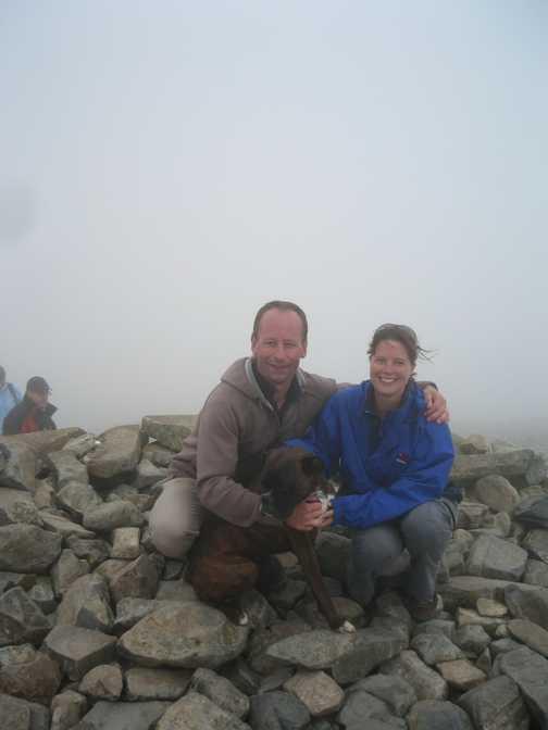 Scafell Pike Summit - July 09