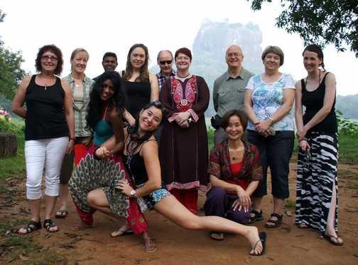 In front of Sigiriya