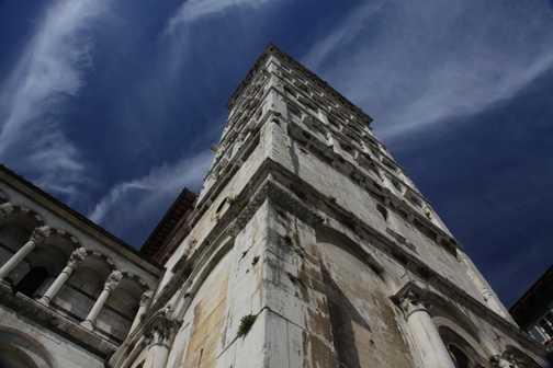 A bilding in Tuscany