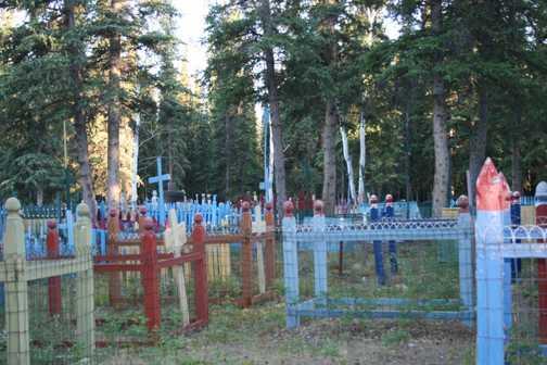 First Nation graveyard
