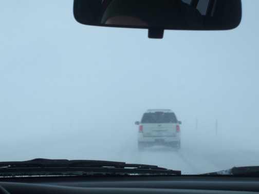 Driving snow!!!