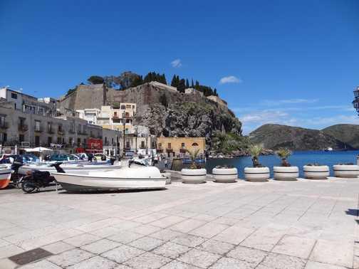 Lipari town