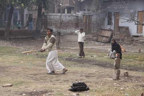 Cricket at Varanassi