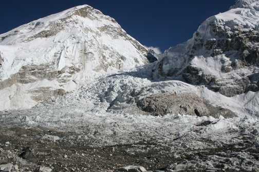 Base Camp and Khumbu Ice Fall