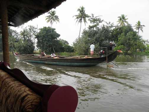 Keralan backwaters