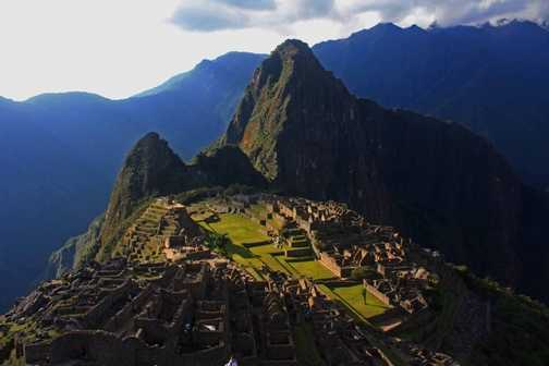 The iconic Machu Picchu Picture