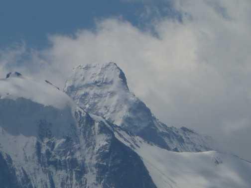 First glimpse of Matterhorn