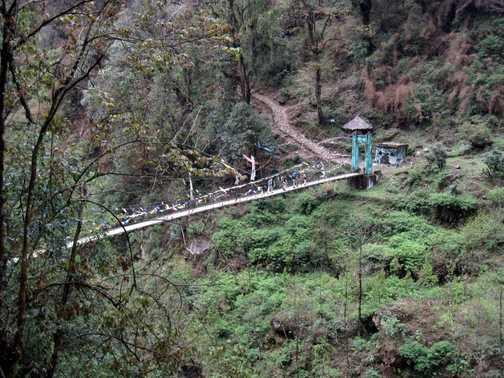 Trail to Tshoka