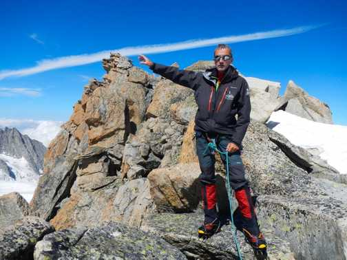 At the top of Tete Blanche