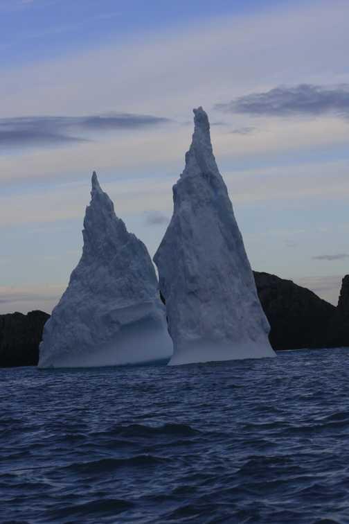 twin towers - spert island