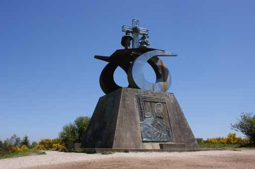Monument at Monte do Gozo