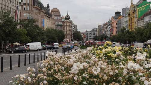 When is a square not a square? When it is Wenceslas Square in Prague