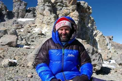 Me on Aconcagua